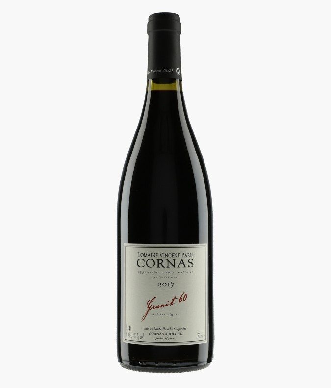 Wine Cornas Granit 60 - VINCENT PARIS