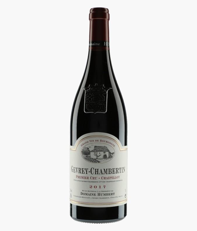 Wine Gevrey-Chambertin 1er Cru Craipillot - HUMBERT FRERES