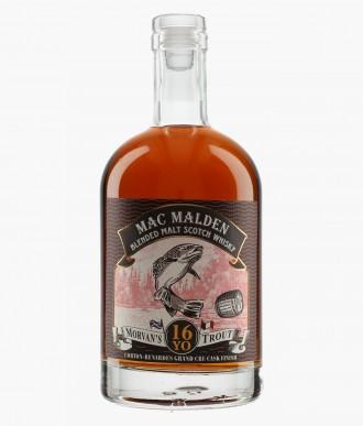 """Morvan's Trout"" Blended Malt Scotch Whisky, 16 ans"