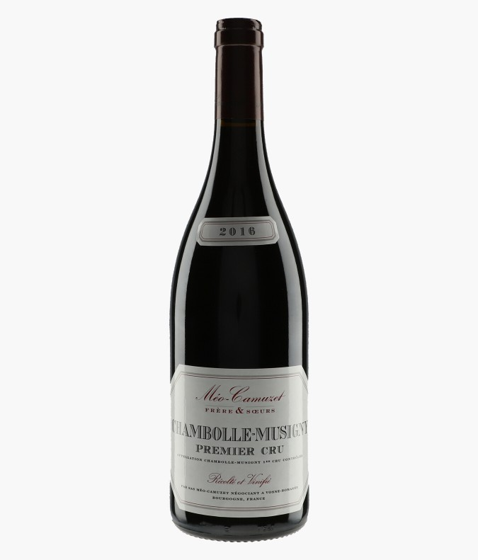 Wine Chambolle-Musigny 1er Cru - MEO-CAMUZET Frère & Soeur