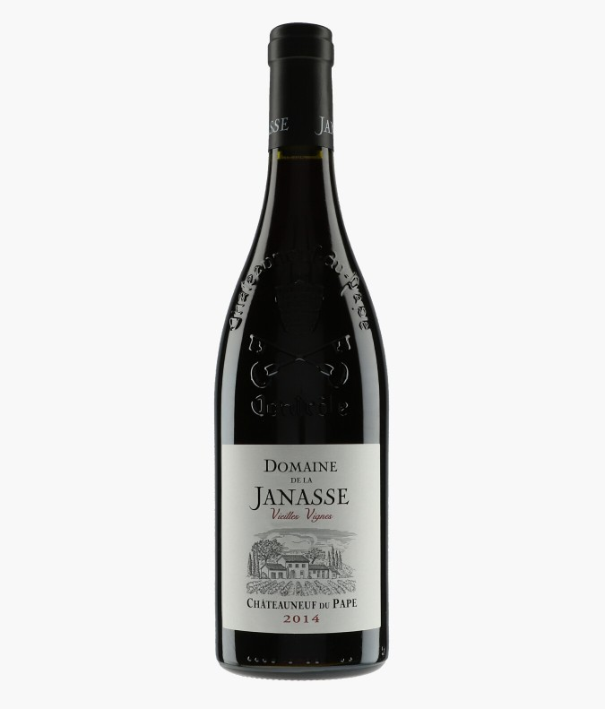 Wine Châteauneuf-du-Pape Cuvée Vieilles Vignes - JANASSE