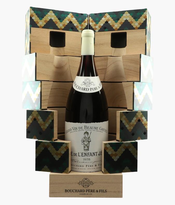 Wine Beaune 1er Cru Grèves Vigne de l'Enfant Jésus - Coffret des 200 ans du Chateau - BOUCHARD PERE & FILS