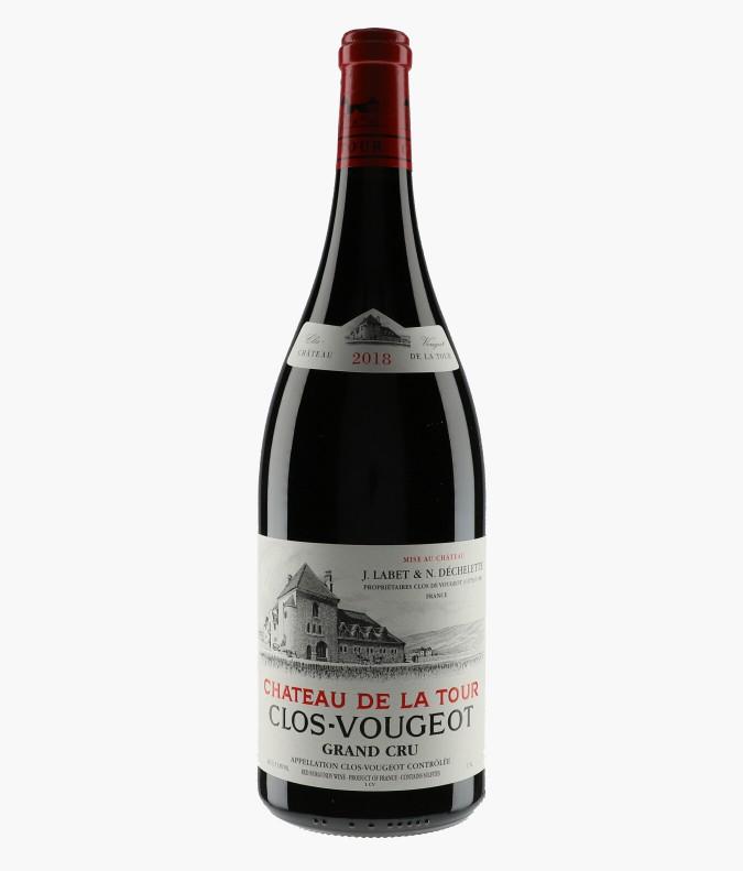 Wine Clos-de-Vougeot Grand Cru - CHATEAU DE LA TOUR