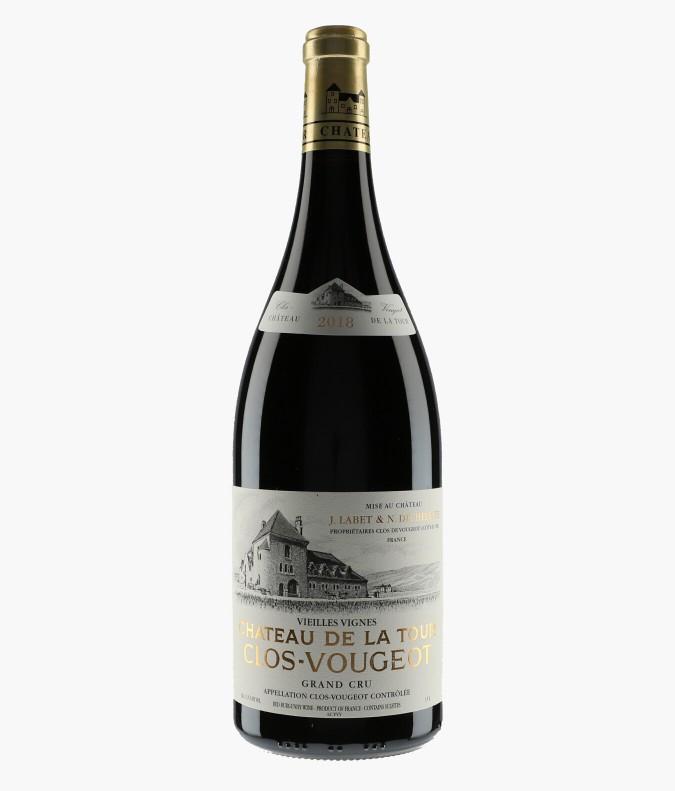Wine Clos-de-Vougeot Grand Cru Vieilles Vignes - CHATEAU DE LA TOUR