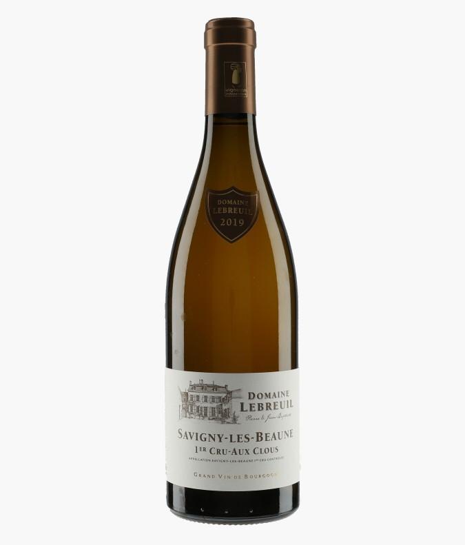Wine Savigny-les-Beaune 1er Cru Aux Clous - LEBREUIL PIERRE & J-B