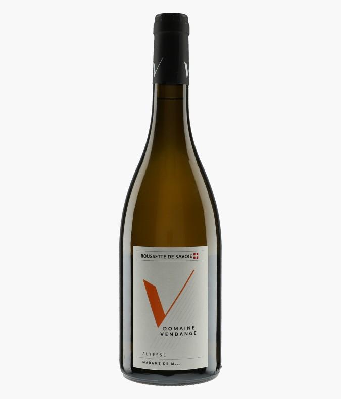 Wine Roussette de Savoie Madame de M... - VENDANGE