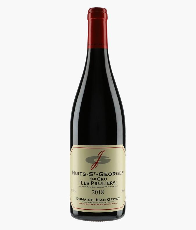 Wine Nuits-Saint-Georges 1er Cru Les Pruliers - GRIVOT JEAN