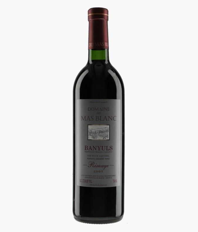 Wine Banyuls Rimage - MAS-BLANC