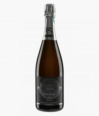 Champagne Fins Lieux N°1 Verzenay les Perthois Extra-Brut Blanc de Noirs - PEHU SIMONET