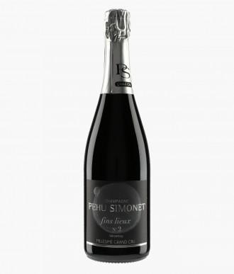 Champagne Fins Lieux N°2 Verzenay les Crayères Extra-Brut Blanc de Noirs - PEHU SIMONET